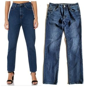 American Eagle Hi-Rise Slim Straight Jeans
